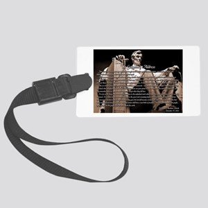 Gettysburg Address Large Luggage Tag