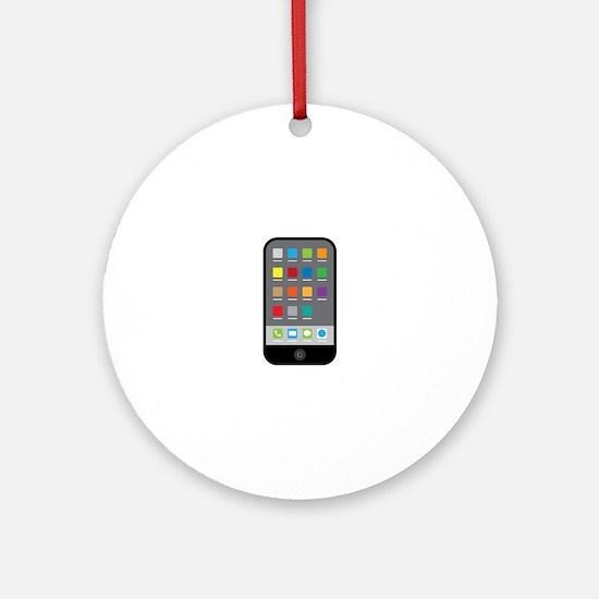 Smart Phone Ornament (Round)