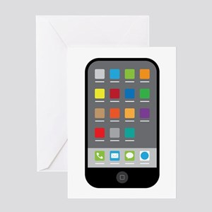 Cell phone greeting cards cafepress smart phone greeting cards m4hsunfo