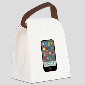 Smart Phone Canvas Lunch Bag