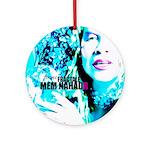 Mem Nahadr - FEMME FRACTALE Ornament (Round)