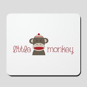 Little Monkey Mousepad
