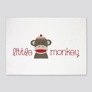 Little Monkey 5'x7'Area Rug