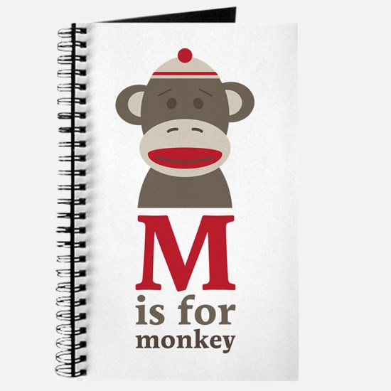 M Is For Monkey Journal