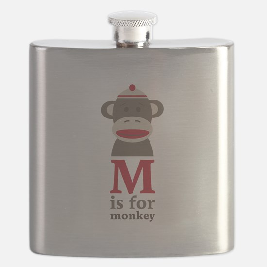 M Is For Monkey Flask