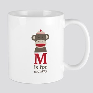 M Is For Monkey Mugs