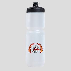 FIREFIGHTERS DESIGN Sports Bottle