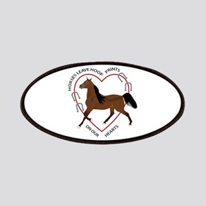 HOOF PRINTS ON OUR HEARTS Patches