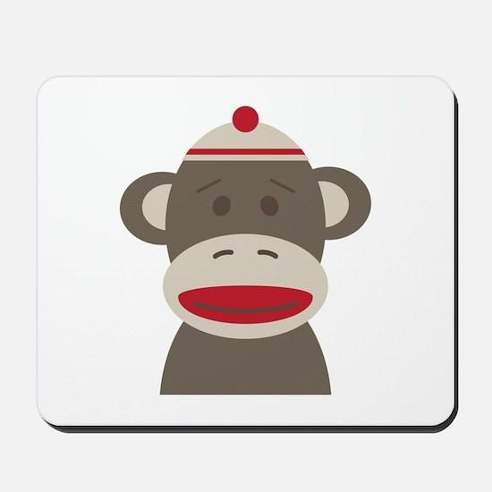 Sock Monkey Mousepad