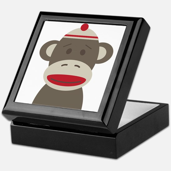 Sock Monkey Keepsake Box