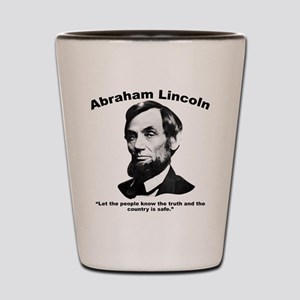 Lincoln: People Shot Glass