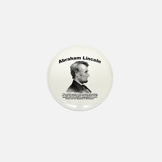 Lincoln: Money Mini Button