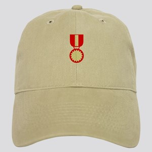 Red Ribbon Medal Cap
