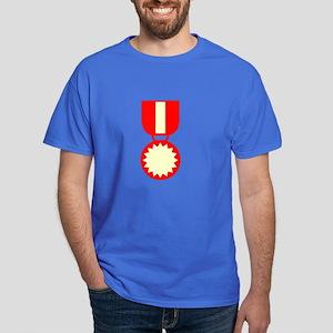 Red Ribbon Medal Dark T-Shirt