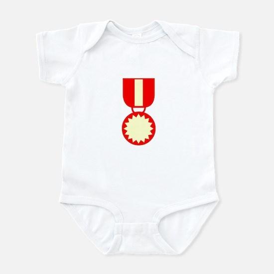 Red Ribbon Medal Infant Bodysuit
