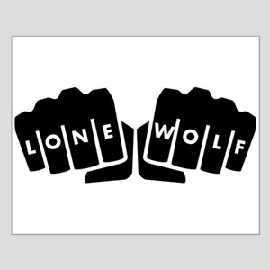Lone Wolf Knuckle Tattoo Posters