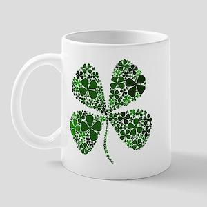 Infinite Luck Four Leaf Clover Mug