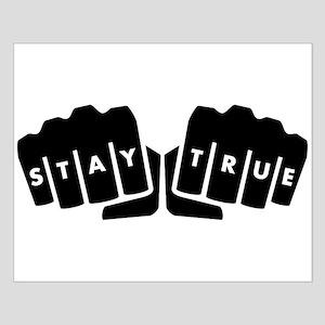 Stay True Knuckle Tattoo Posters