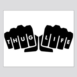 Thug Life Knuckle Tattoo Posters