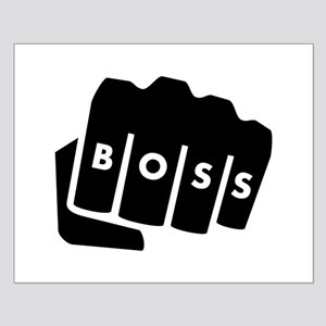 Boss Knuckle Tattoo Posters