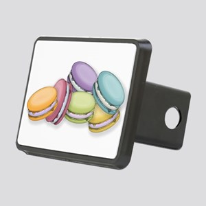 Colorful French Macaron Co Rectangular Hitch Cover