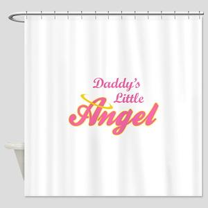 DADDYS LITTLE ANGEL Shower Curtain