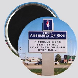 churchsign1 Magnets