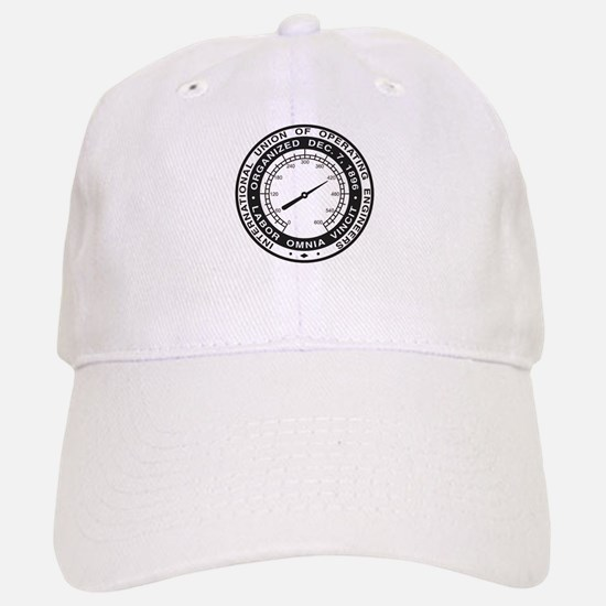 IUOE Logo Baseball Baseball Baseball Cap