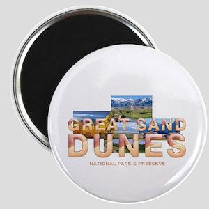 Great Sand Dunes Magnet