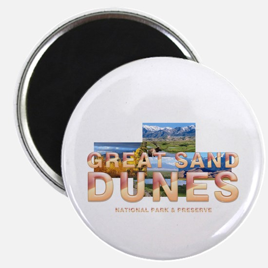 Great Sand Dunes Magnet