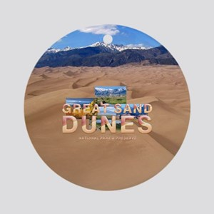 Great Sand Dunes Round Ornament
