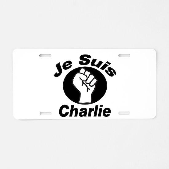 Je Suis Charlie Aluminum License Plate