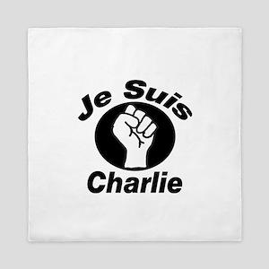 Je Suis Charlie Queen Duvet