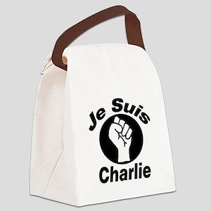 Je Suis Charlie Canvas Lunch Bag