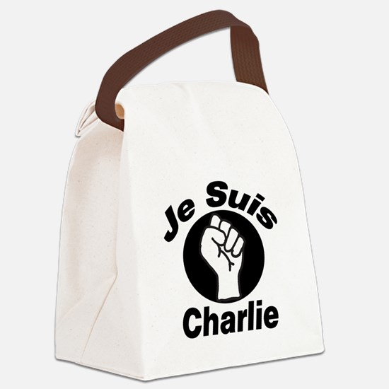 Je Suis Charlie Canvas Lunch Bag