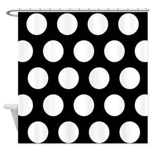 Polka Dot Shower Curtains