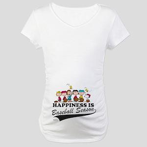 The Peanuts Gang Baseball Maternity T-Shirt