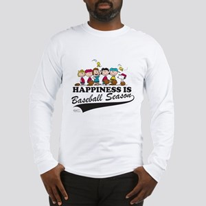 The Peanuts Gang Baseball Long Sleeve T-Shirt