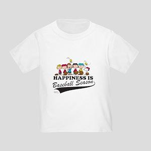 The Peanuts Gang Baseball Toddler T-Shirt