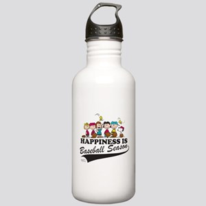 The Peanuts Gang Baseb Stainless Water Bottle 1.0L