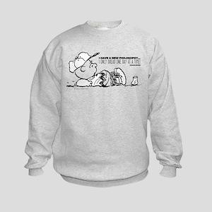 Charlie Brown Philosophy Kids Sweatshirt