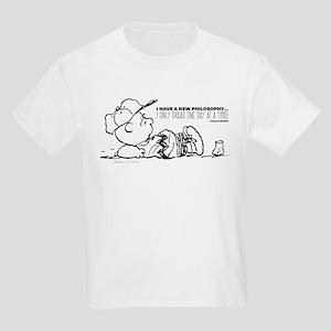 Charlie Brown Philosophy Kids Light T-Shirt