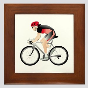 Cycling without Text Framed Tile