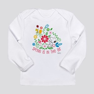 Snoopy Spring Long Sleeve Infant T-Shirt