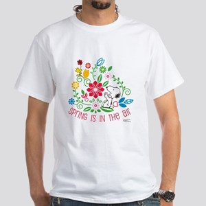 Snoopy Spring White T-Shirt