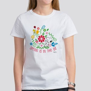ce44a1dcc0 Snoopy Spring Women s T-Shirt