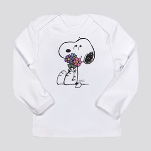 Springtime Snoopy Long Sleeve Infant T-Shirt