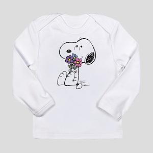 Springtime Snoopy Long Sleeve Infant T-Shirt