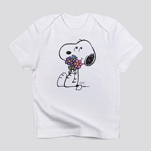 Springtime Snoopy Infant T-Shirt