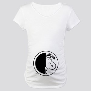 Sneaky Snoopy Maternity T-Shirt